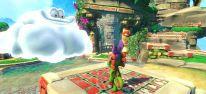 Kunterbunter Hüpfspaß in charmanter Spielwelt sorgt für gute Laune und Hitpotenzial