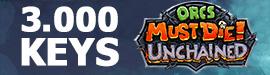 Gewinnspiel: Keys: Orcs Must Die! Unchained