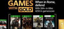 Xbox Games with Gold: Im April 2017 mit Ryse, The Walking Dead Season 2 und Assassin's Creed Revelations