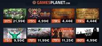 Gamesplanet: Anzeige: Angebote zum Wochenstart, u.a. GTA 5 - 12,50 Euro, WRC 7 - 11,99 Euro, Patrizier 4 Gold - 4,44 Euro