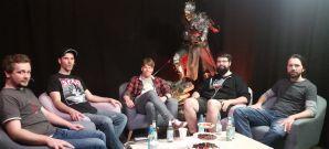 """Dennis Richtarski, Marco Giesel, """"Bruugar"""" und J�rg diskutieren �ber Dark Souls 3"""