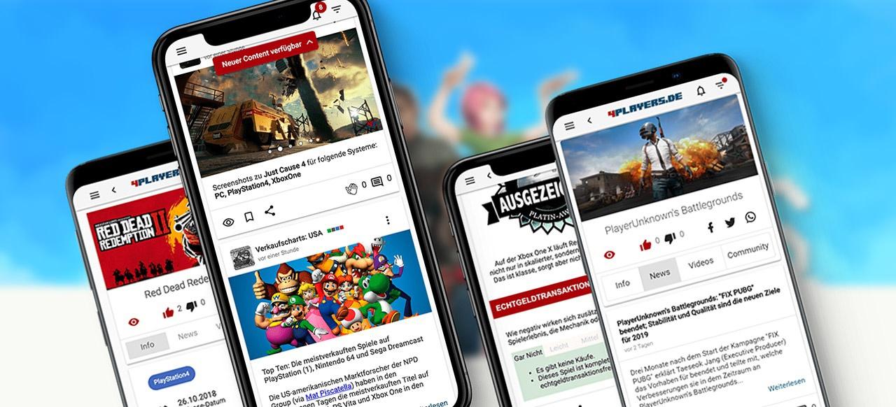 Macht mit beim neuen mobilen 4Players!