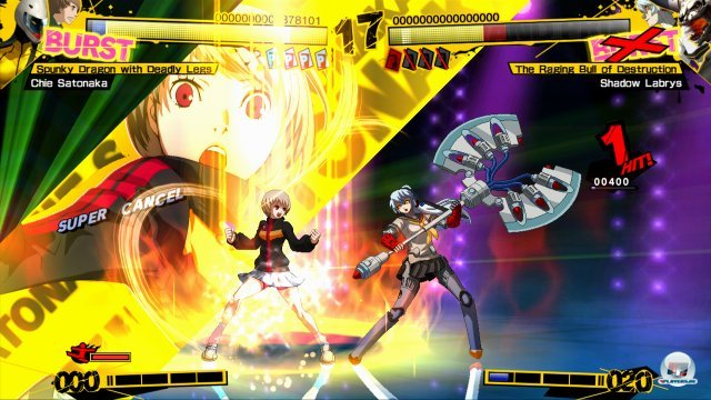 Screenshot - Persona 4: Arena (PlayStation3) 2370492