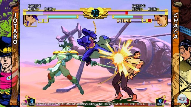 Screenshot - JoJo's Bizarre Adventure HD Ver. (PlayStation3)