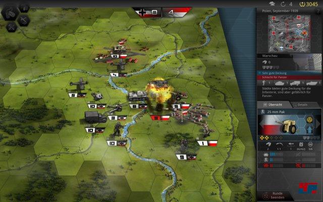 Screenshot - Panzer Tactics HD (iPad)