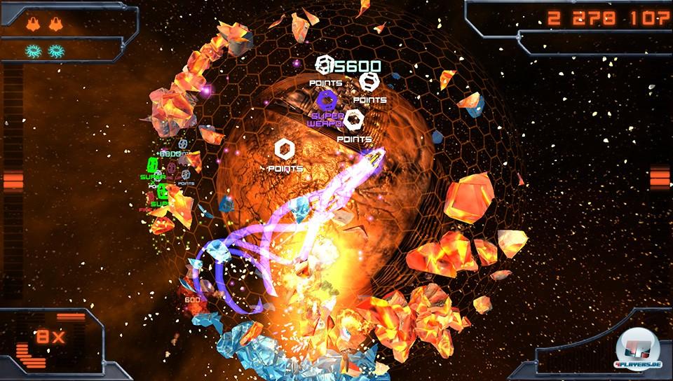 Explosionen und Arcade-Nervenkitzel!