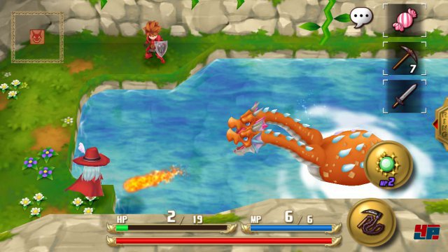 Screenshot - Adventures of Mana (Android)