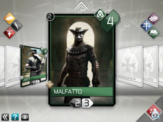 Screenshot - Assassin's Creed Recollection (iPad) 2328437