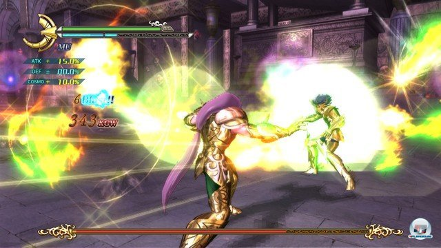 Screenshot - Saint Seiya: Sanctuary Battle (PlayStation3) 2274157