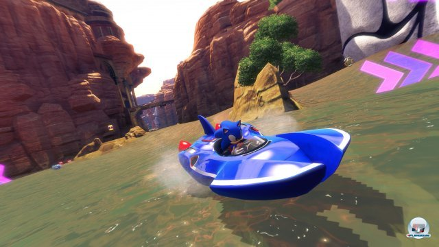 Screenshot - Sonic & All-Stars Racing Transformed (PlayStation3) 2384667