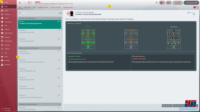 Screenshot - Football Manager 2018 (PC)