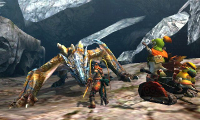 Screenshot - Monster Hunter 4 (3DS) 92399002
