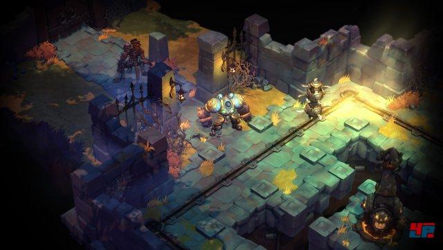In den (zufällig generierten) Dungeons kann man Fallen ausweichen, Schätze finden und mit etwas Glück den Gegnern entkommen oder sich auf einen Kampf einlassen.