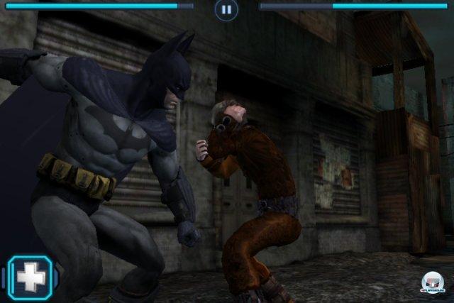 Screenshot - Batman: Arkham City Lockdown (iPhone)
