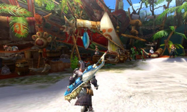 Screenshot - Monster Hunter 4 (3DS)