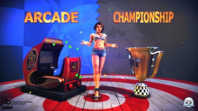 Screenshot - The 90's Arcade Racer (PC)