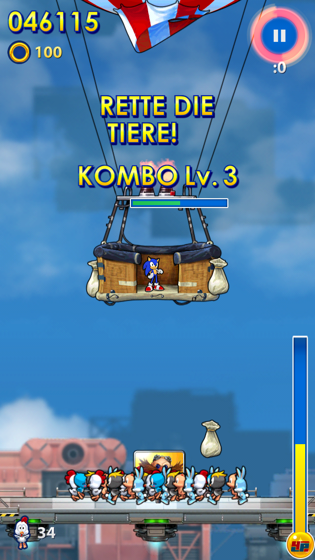 Screenshot - Sonic Jump Fever (Android)