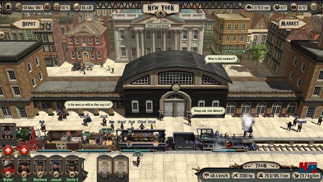 Diese Ansicht der Bahnhöfe werdet ihr oft zu Gesicht bekommen.