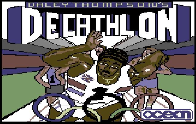 »Daley Thompsons Decathlon« war zwar lange nicht das erste Spiel, das die olympischen Leichtathletik-Disziplinen auf flimmernde Monitore brachte (»Microsoft Decathlon« war ganze drei Jahre früher am Start), aber es war eines der ersten, das sich einen zugkräftigen Partner aufs Cover holte. Und wer konnte im Jahre 1984, dem Jahr der Olympischen Sommerspiele in Los Angeles, ein größerer Name sein als der zweimalige Olympiasieger und Zehnkämpfer Daley Thompson? 1980353