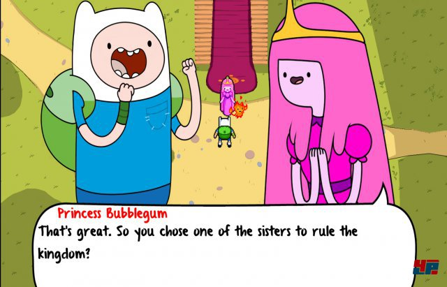 Screenshot - Adventure Time: Secret of the Nameless Kingdom (360)