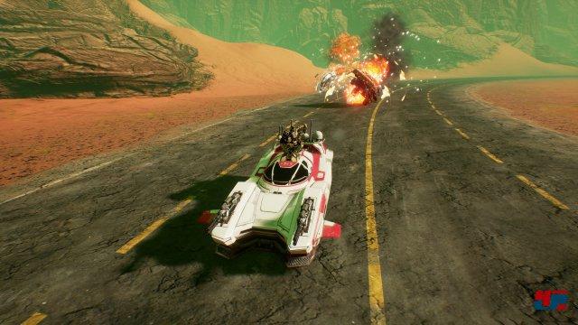 Screenshot - Dark Future: Blood Red States (PC)