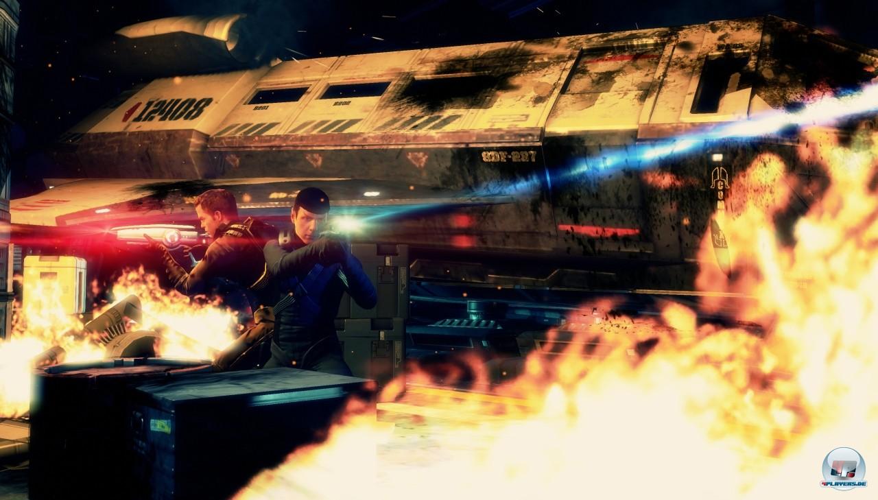 Spock und Kirk sind sehr verschiedene Persönlichkeiten. Beide haben andere Waffen und unterschiedliche Spielstile.