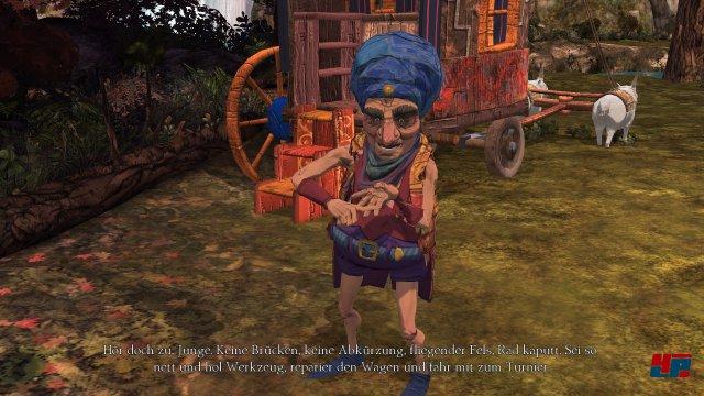 Screenshot - King's Quest: Der seinen Ritter stand (360)