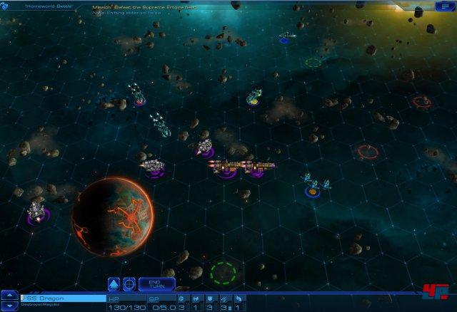 Screenshot: Taktische Schlacht