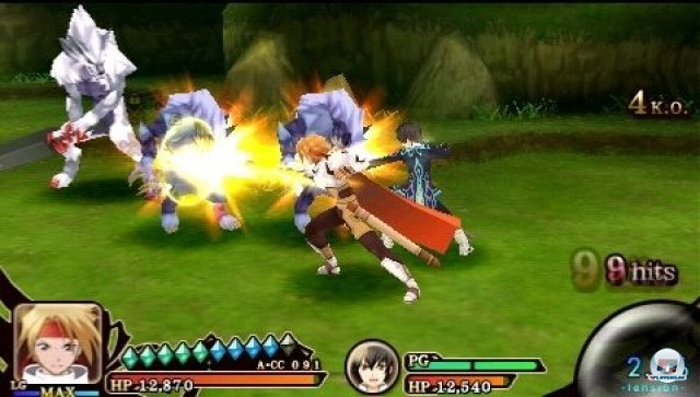 Screenshot - Tales of the Heroes: Twin Brave (PSP) 2295567