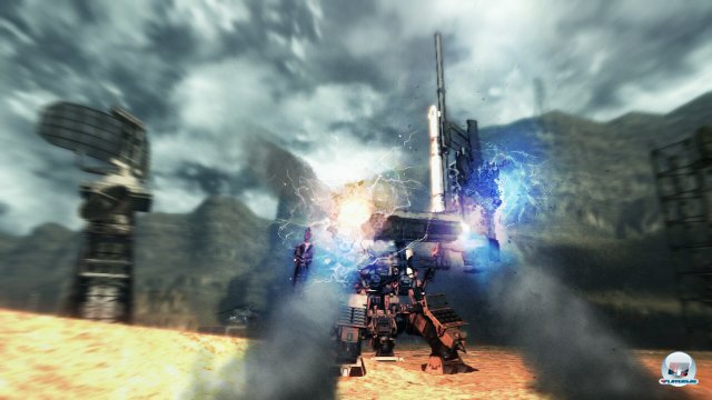 Screenshot - Armored Core V (PlayStation3)