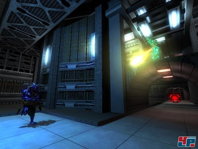 Dieser Screenshot stammt aus dem Original-Nexuiz von 2005.