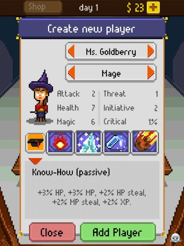 Screenshot - Knights of Pen & Paper (iPad) 92458306