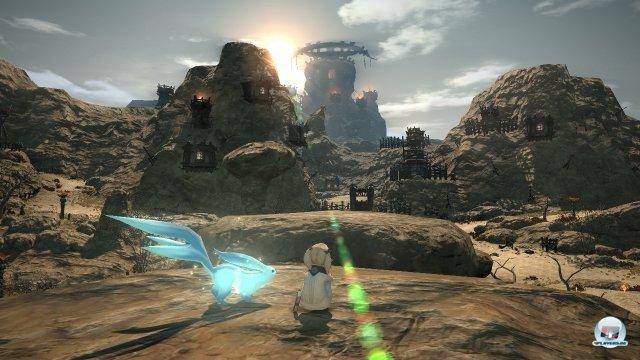 Technisch gibt man sich keine Blöße: Eozera erstrahlt auf der PS4 in neuem Konsolen-Glanz.