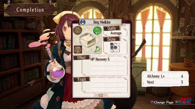 Screenshot - Atelier Sophie: The Alchemist of the Mysterious Book (PS4) 92527376