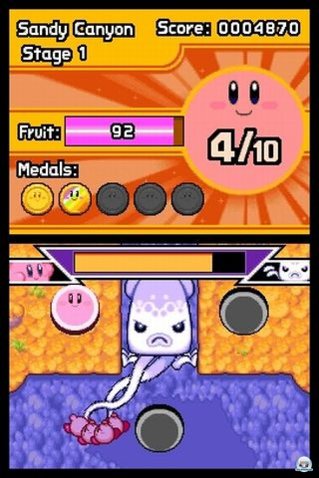 Screenshot - Kirby: Mass Attack (NDS) 2252052