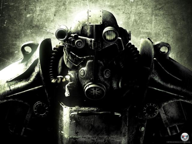 Fallout 3<br><br>Taktische und actionreiche Bruderschaften hin oder her: Inzwischen hatte es geschlagene zehn Jahre kein »echtes« Fallout mehr gegeben! Gut, dass Bethesda die Oblivion-Technik über und viel Geld zur Hand hatte. Denn daraus entstand eine beeindruckende Fortsetzung, die zwar in Echtzeit ablief, aber mit einem starken taktischen Kampfsystem und einem noch stärkeren Rollenspiel punktete. Entscheidungen, Kuriositäten, Bewegungsfreiheit und Liam Neeson: Fallout 3 hatte fast alles, was Fallout und Rollenspiel brauchen! Für ein bisschen extra gab es außerdem Missionen zum Runterladen – ein Abenteuer auf Raten. Nur die LKW-Ladungen voller PC-Modifikationen waren kostenlos. 2168898
