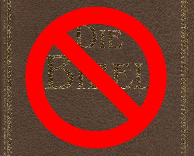 <b>Die Bibel: </b><br><br> Völkermord, Inzest, Ehebruch, Sklaverei, Drogenkonsum, Massenvergewaltigung - dieses grausame Machwerk gehört in die Steinzeit zurückverboten, aus der es stammt! Was soll denn für eine Vorbildfunktion für haltlos durch die Welt taumelnde Kinder bieten? 1948443