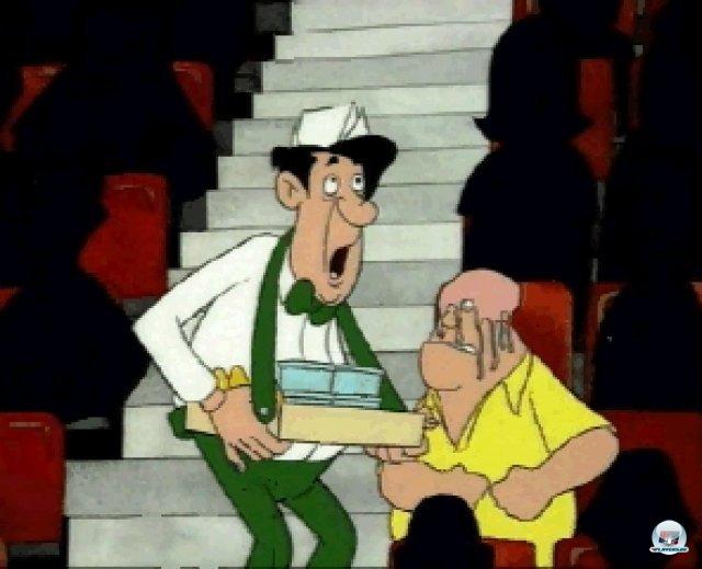 Zwischensequenzen im Zeichentrick-Stil gab es nur bei den CD-Versionen.