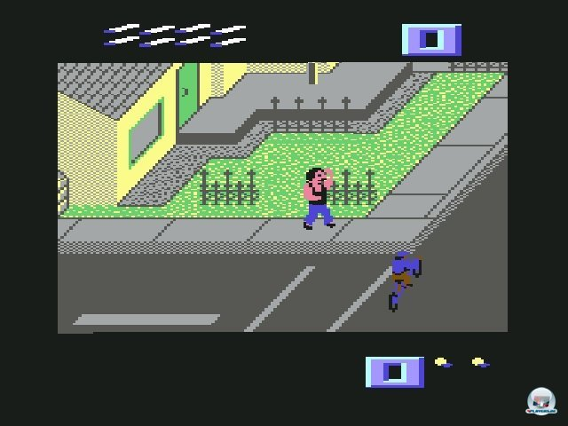 <b>Paper Boy</b><br><br> Schon lange vor Tony Hawk gab es einen Boom der Trendsportspiele. In der Umsetzung von Ataris Paperboy (1986) schlägt man sich als BMX-Zeitungsjunge mit Bodybuildern, aggressiven Hunden und später sogar dem Sensenmann herum. Während man sich durch die Gefahren mogelt, wirft man auf Knopfdruck die Zeitung zum Empfänger. Noch skurriler wirkt B.C. II: Grogs Revenge. Dort fährt man als Urzeitmensch auf dem Einrad schmale Bergpfade hinauf. Electronic Arts ging es schon 1987 realistischer an: Das Rollbrett-Spiel Skate or Die! war praktisch das damalige Gegenstück zur heutigen skate-Serie. 2371817