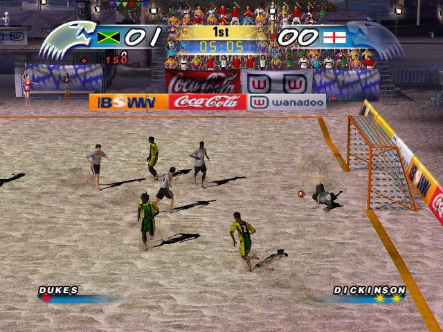 Скачать игру пляжный футбол - d4