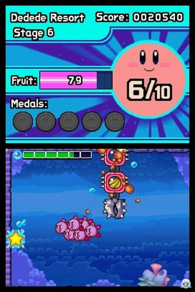 Screenshot - Kirby: Mass Attack (NDS) 2252082