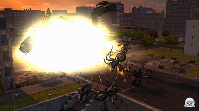 Screenshot - Earth Defense Force: Insect Armageddon (360) 2222679