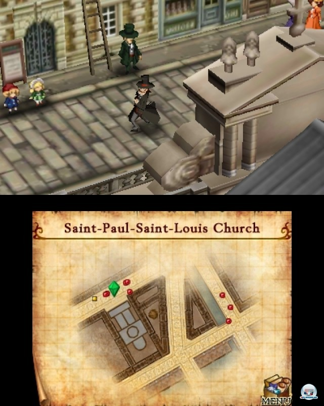 Screenshot - Doctor Lautrec and the Forgotten Knights (NDS) 2216908