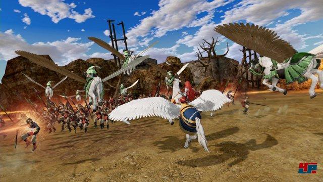 Auch mit dem taktischen Hintergrund von Fire Emblem bleibt der Warriors-Ableger dem Musou-Konzept mit seiner Hack&Slay-Action treu.