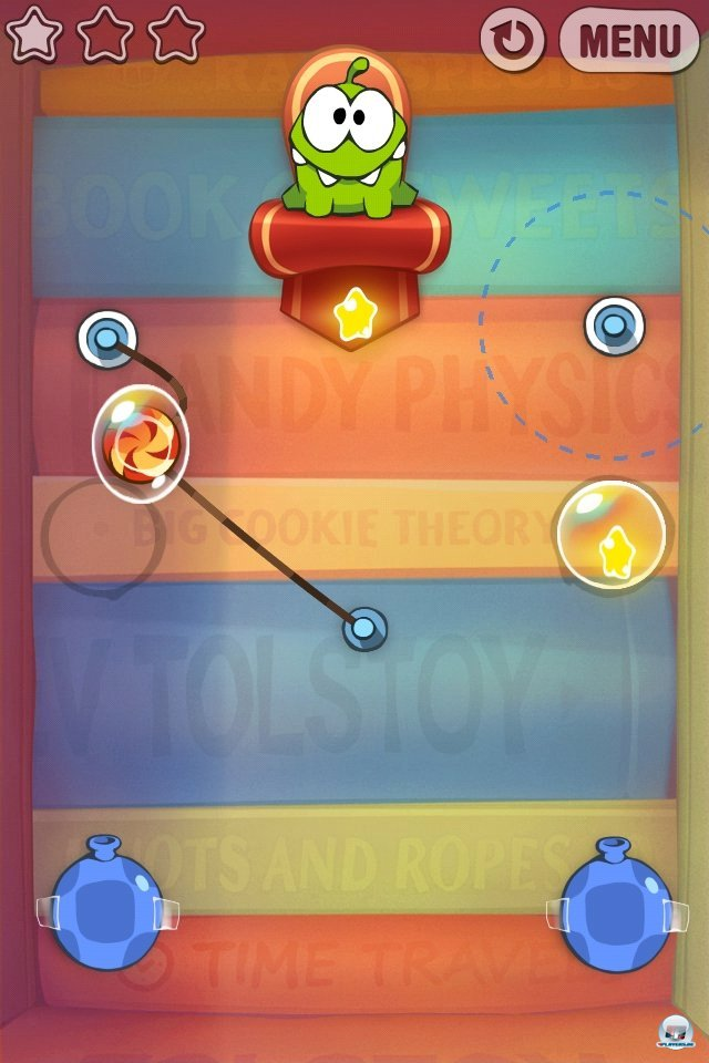Screenshot - Cut the Rope: Experiments (iPhone)