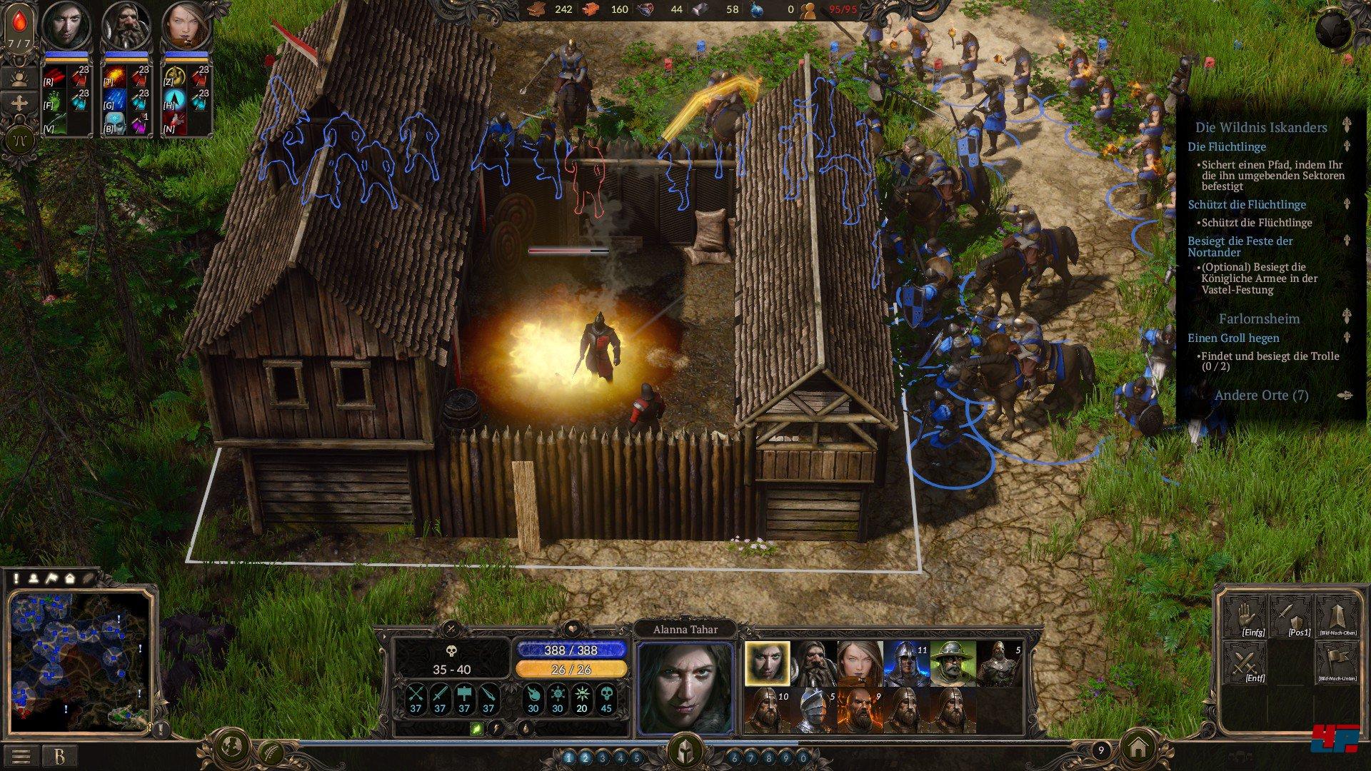 screenshots zu spellforce 3 alles zum strategie spiel spellforce 3. Black Bedroom Furniture Sets. Home Design Ideas