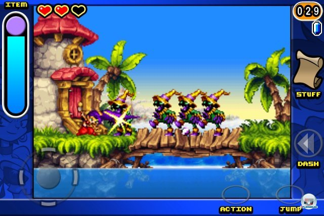 Screenshot - Shantae: Risky's Revenge (iPhone)