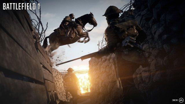 Mit den Pferden kommt man schnell von Punkt A nach B, ist mächtig im Nahkampf und kann auch auf ihnen gut zielen.