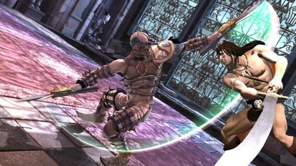 Conan<br><br>Er hat einen Krumms�bel, der gr��er ist, als die meisten seiner Gegner. Wie konnte man diesen Hippie bislang nur vernachl�ssigen? Nachteil f�r j�ngere Spieler: Allein aufgrund seines Auftritts wird Soul Calibur 4 die Jugendfreigabe verweigert. 1742273