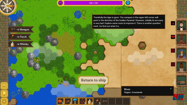 Screenshot - The Curious Expedition (PC) 92532793